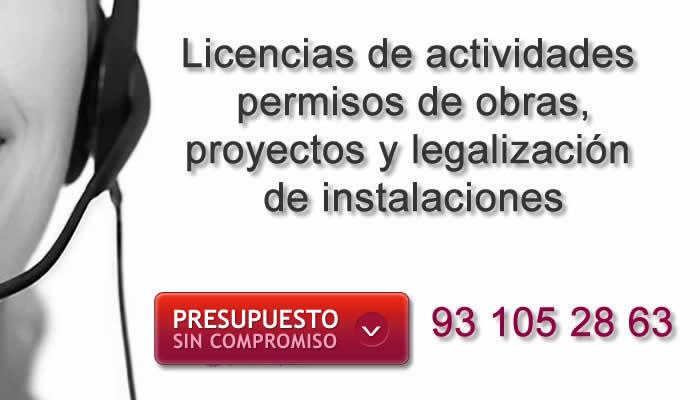 Licencia de actividades o licencia de apertura en barcelona for Permiso de obras barcelona
